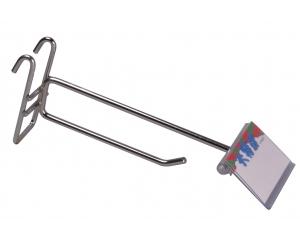 井網雙掛鉤[一字型] (Double Hanger used on the net{straigt hook})