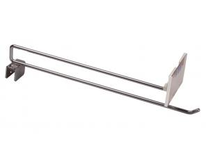 方管雙掛鉤[上勾型] (Double Hanger used on the square iron tube {hook-raised})